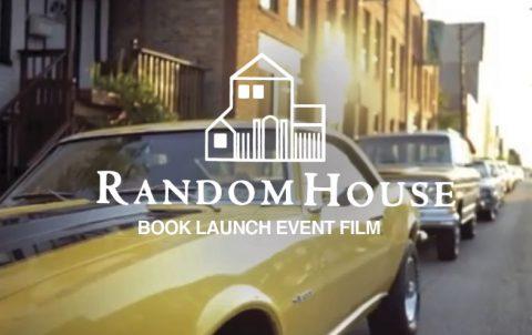 Random House Book Launch Film