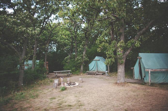 Tent Hill Cabins Camp Wandawega