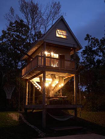 Treehouse Camp Wandawega