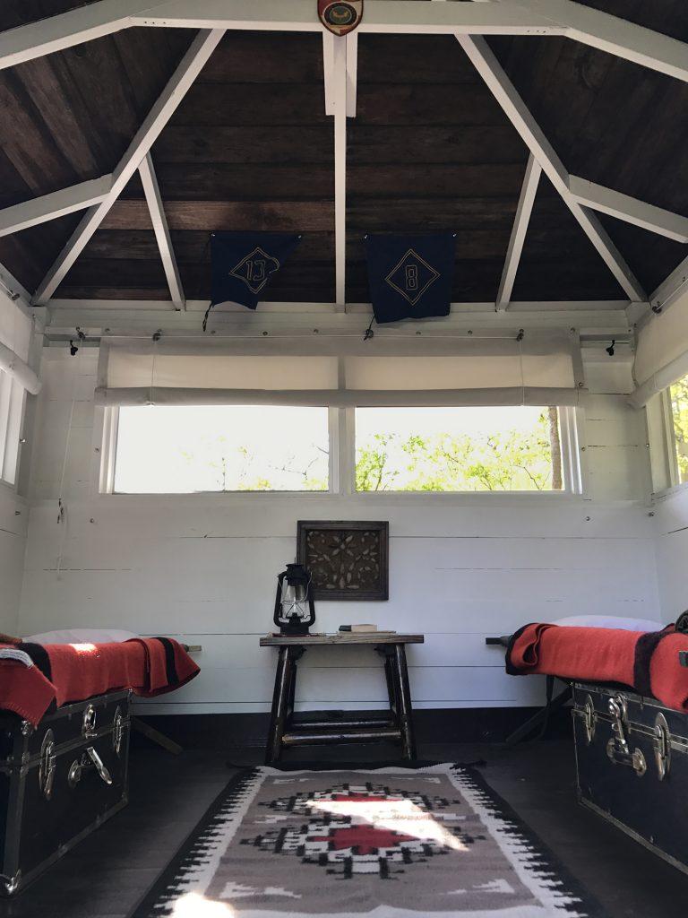 fireside cabin