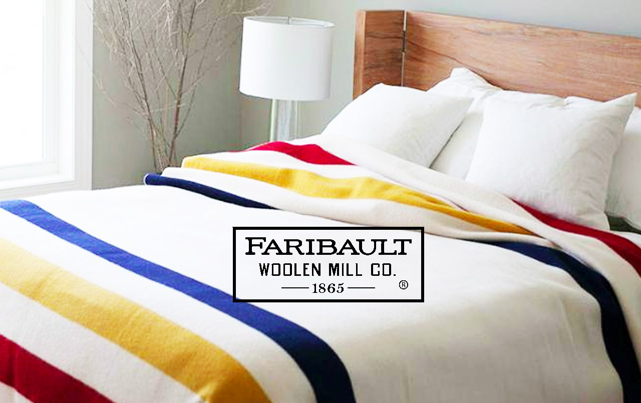 "Faribault Woolen Mill ""Storied Explorations Collection"""