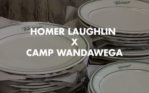 Homer Laughlin x Camp Wandawega